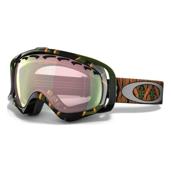 Горнолыжная маска Oakley Crowbar 57-804 зеленый