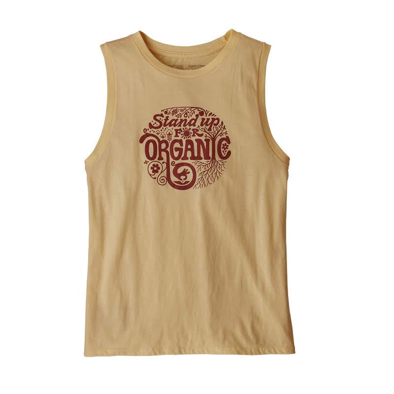 Купить Футболка Patagonia Root Revolution Organic Muscle женская