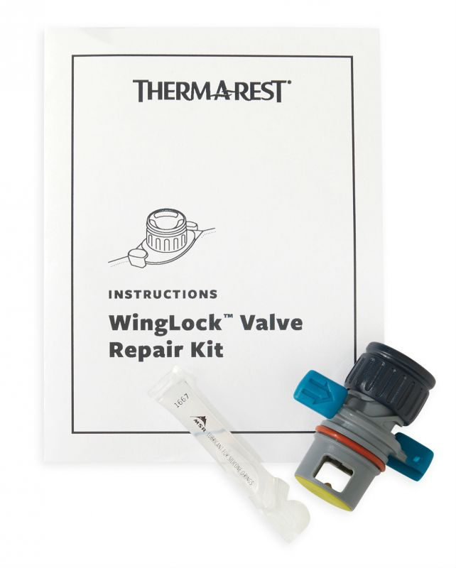 Ремнабор Therm-A-Rest Therm-a-Rest New Valve Repair Kit подушка наволочка therm a rest therm a rest trekker pillowcase серый