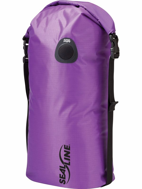 цена на Гермомешок SealLine Sealline Bulkhead Compression Dry Bag 20L фиолетовый 20Л