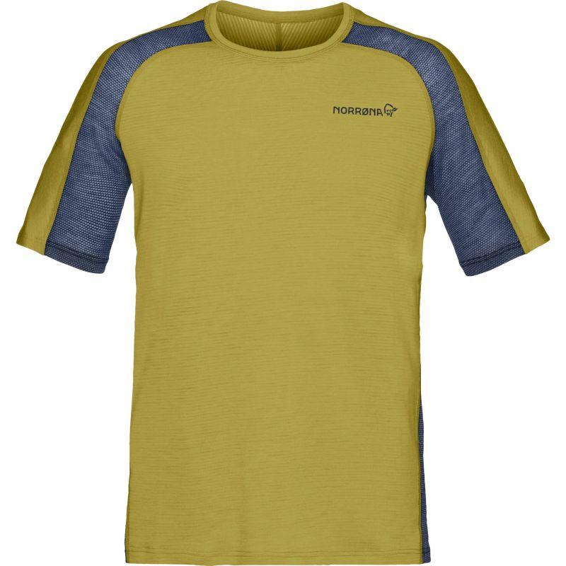 Футболка Norrona Norrona Bitihorn Wool футболка norrona norrona 29 cotton powder skier t shirt