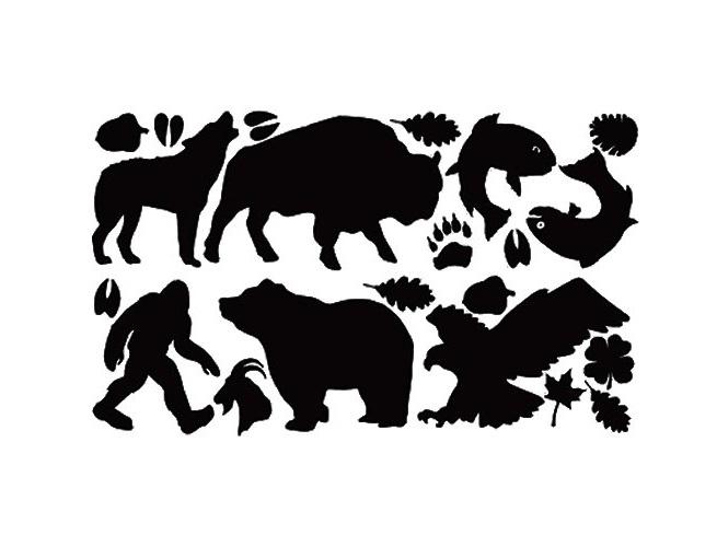 Купить Лента Gear Aid для ремонта одежды и снаряжения Patches Wildlife