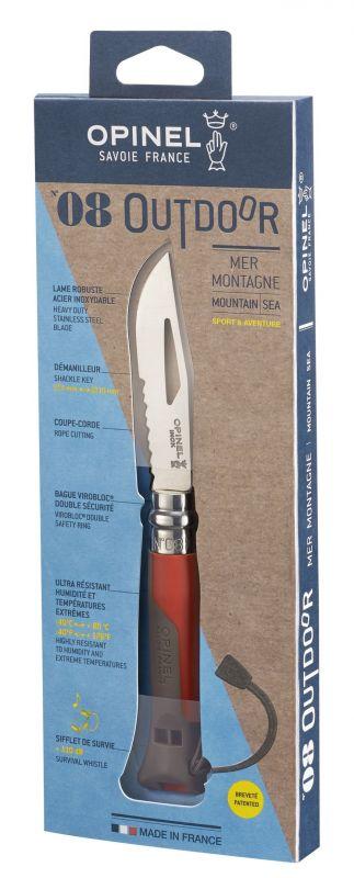 Купить Нож складной Opinel №8 Vri Outdoor Earth