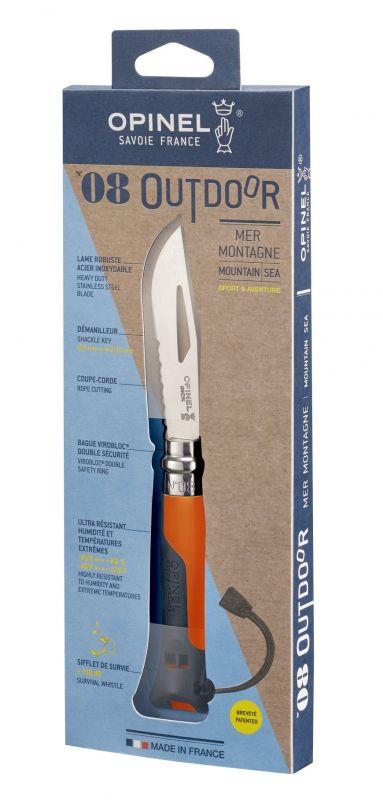 Купить Нож складной Opinel №8 Vri Outdoor