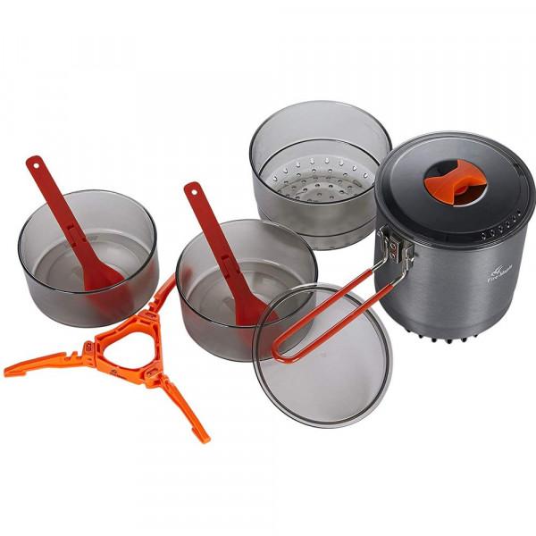 Купить Набор посуды с теплообменной системой Fire-Maple Island