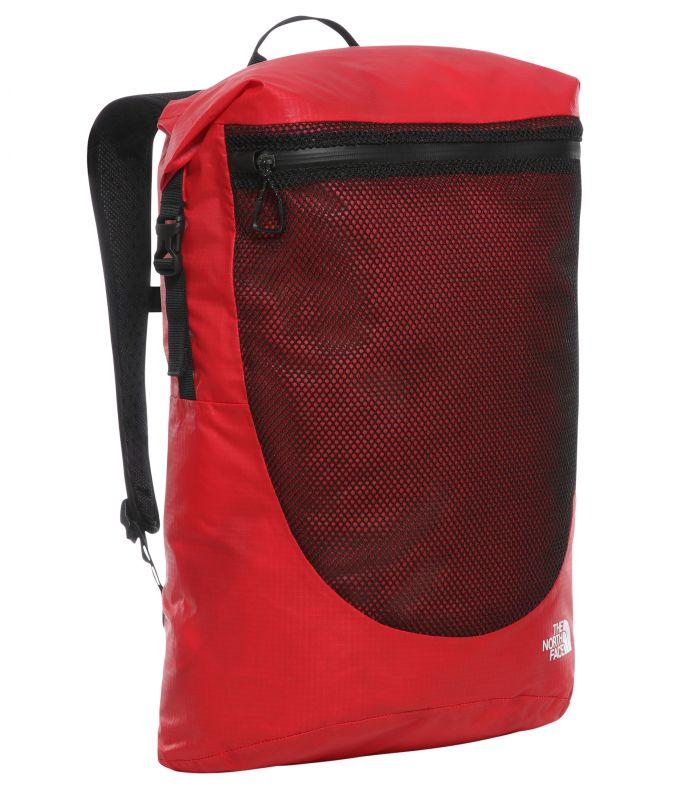 Рюкзак The North Face Waterproof Rolltop 35L красный 35Л