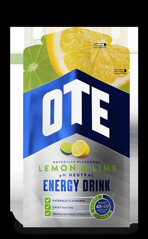 Купить Напиток энергетический Ote Sports в порошке порционных пакетиках, Лимон & Лайм