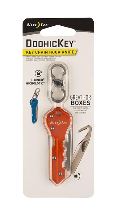 Купить Инструмент карманный Nite Ize DoohicKey Key Chain Hook Knife
