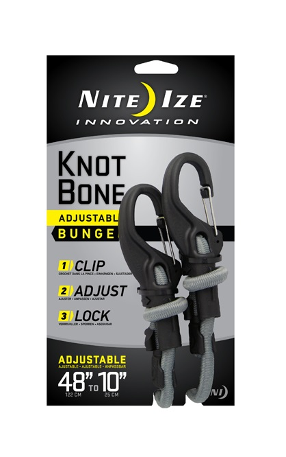 Крепление такелажное Nite Ize KnotBone Bungee L  - купить со скидкой