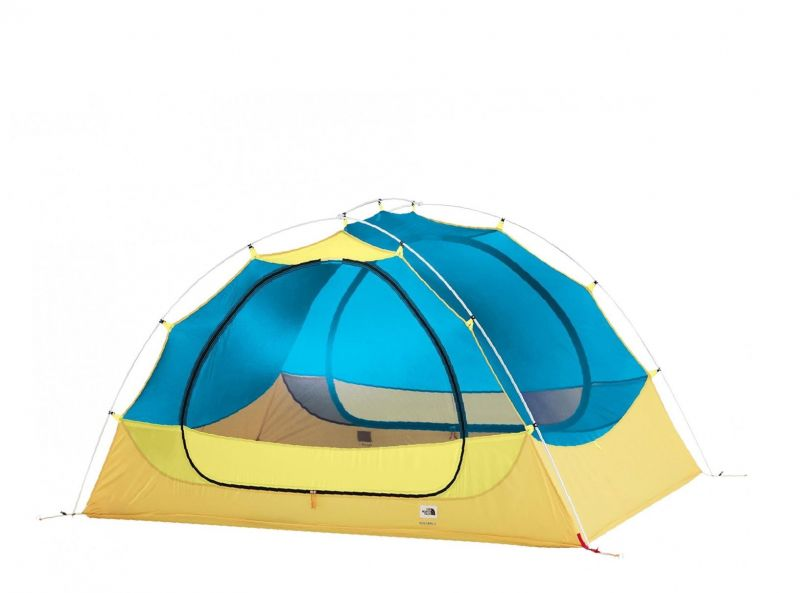 Палатка The North Face Talus Eco 2 светло-желтый 2/ХМЕСТНАЯ