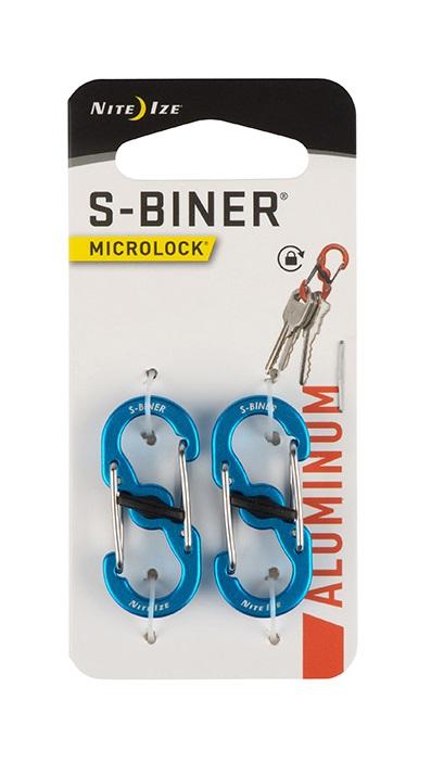 Купить Карабины алюминиевые Nite Ize S-Biner Microlock 2 шт.
