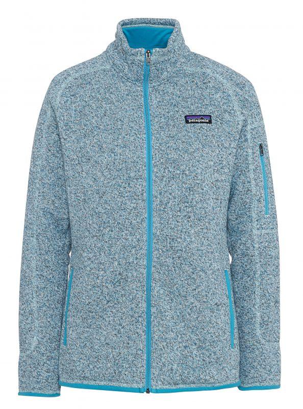 Купить Куртка Better Sweater женская с логотипом «Клуб путешествий Михаила Кожухова»