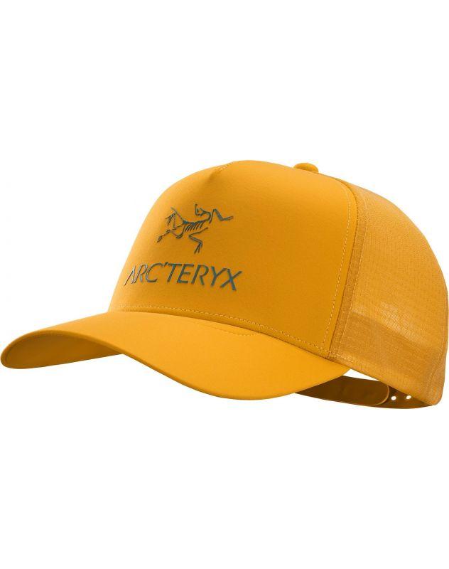 Кепка Arcteryx Arcteryx Logo Trucker желтый ONE кепка arcteryx arcteryx phrenol hat серый l xl