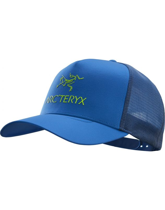 Кепка Arcteryx Arcteryx Logo Trucker синий ONE кепка arcteryx arcteryx phrenol hat серый l xl