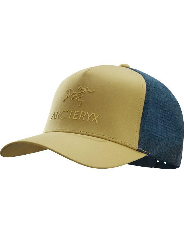 Кепка Arcteryx Arcteryx Logo Trucker хаки ONE кепка arcteryx arcteryx phrenol hat серый l xl