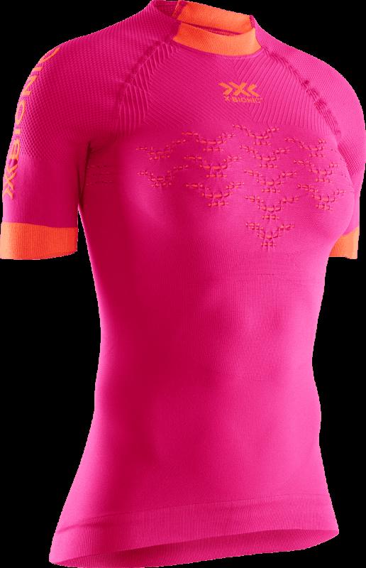 Футболка X-Bionic X-Bionic® The Trick 4.0 Run SH SL женская брюки x bionic x bionic® twyce 4 0 run