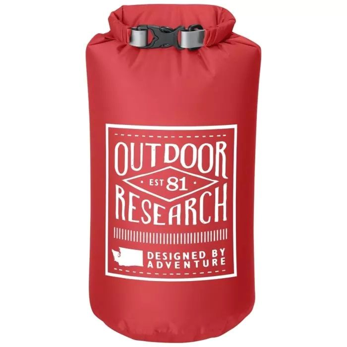 Гермомешок Outdoor Research Retro 5L красный 5Л