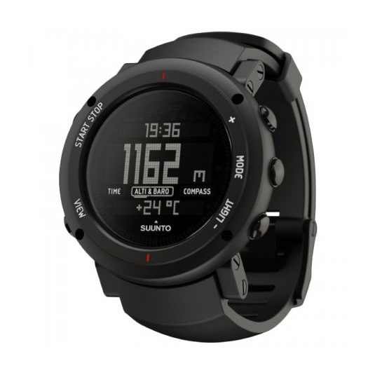 Часы-компас Suunto Core Alu Deep черный suunto умные часы suunto core alu pure white