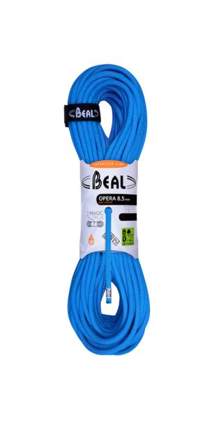 Купить Веревка динамическая Beal Opera Dry Cover 8,5 мм