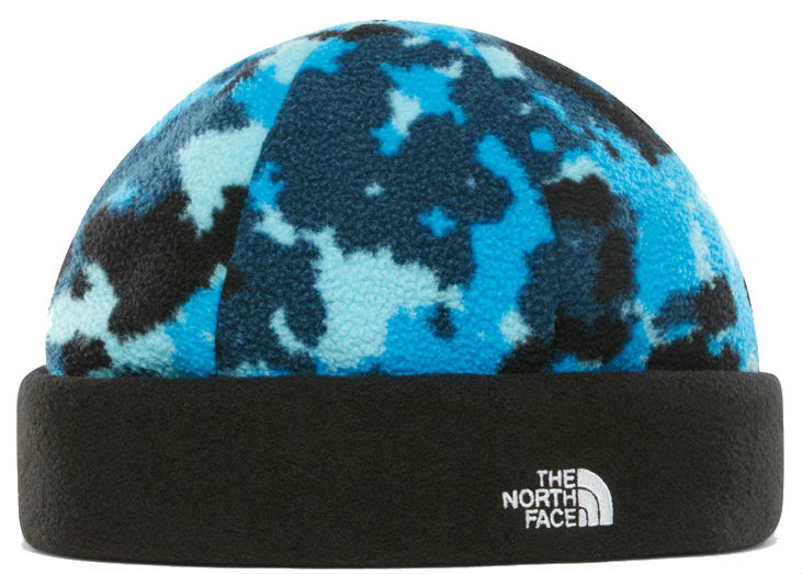Шапка The North Face The North Face Denali Beanie темно-голубой SM the north face ветровка мужская the north face point five размер 44 46