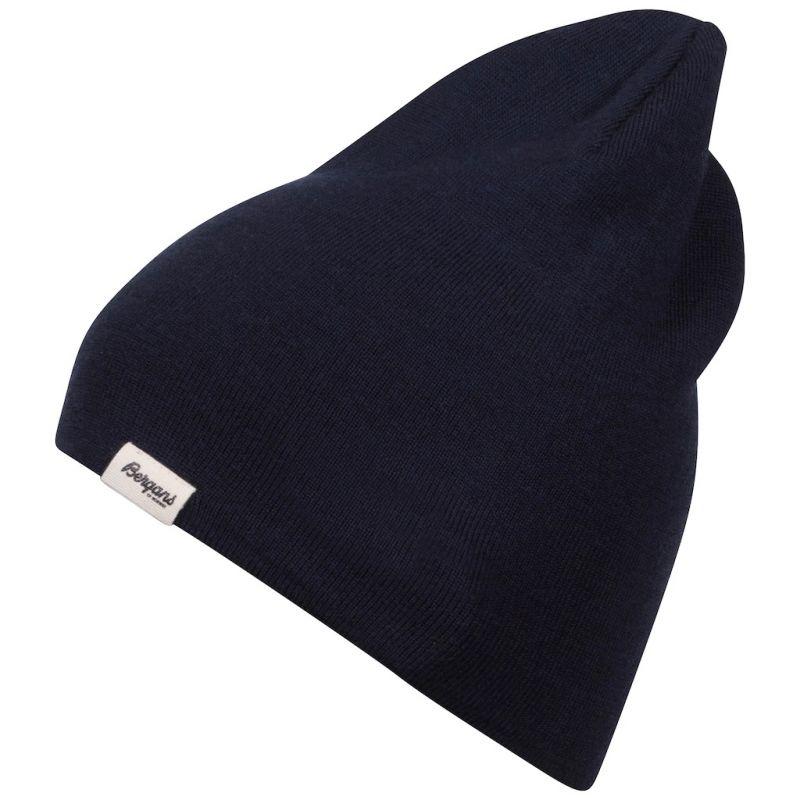 Шапка Bergans Slingsby Wool Beanie темно-синий ONE