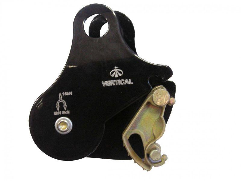 Купить Блок- ролик с зажимом Вертикаль (сталь)