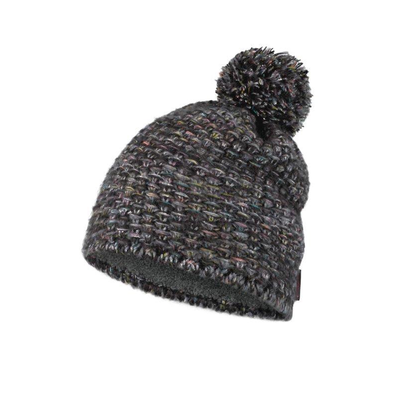 Шапка BUFF Buff Knitted & Fleece Hat Grete серый ONE