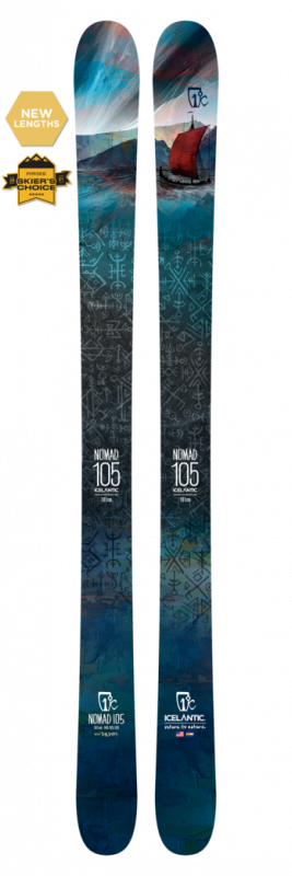 Горные лыжи ICELANTIC Icelantic Nomad 105 176 (20/21)