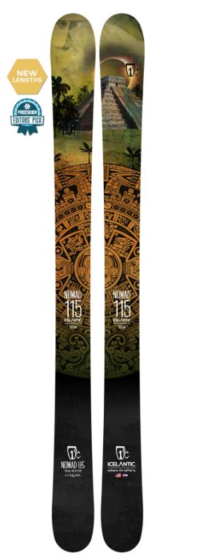 Купить Горные лыжи Icelantic Nomad 115 186