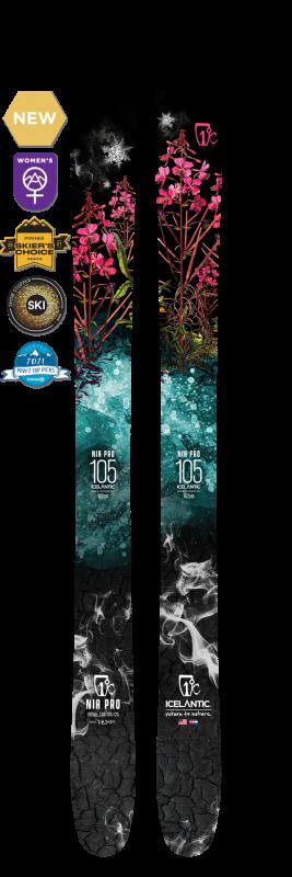 Купить Горные лыжи Icelantic Nia Pro 105 (NEW) 177