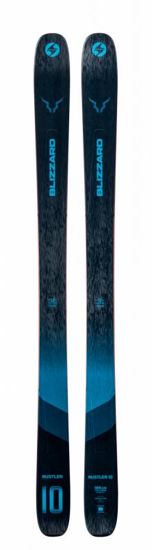 Горные лыжи Blizzard Blizzard Rustler 10 темно-синий (20/21)