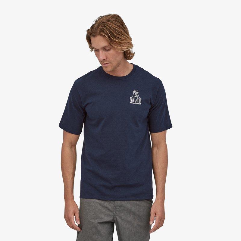 Купить Футболка Patagonia Peak Protector Badge Responsibili-Tee