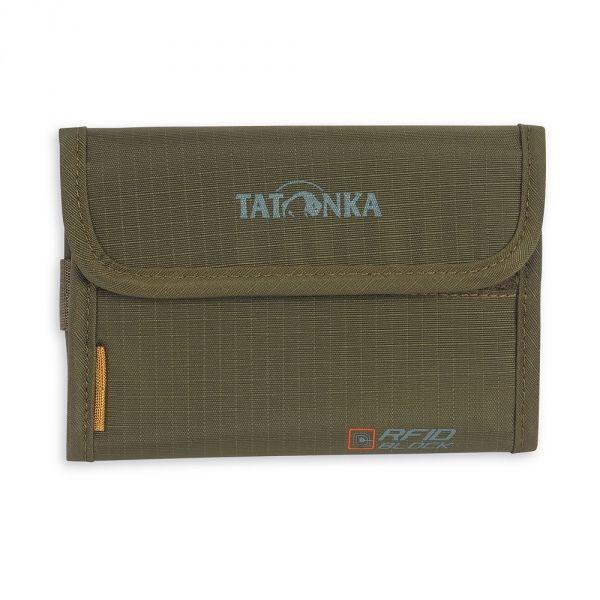 Кошелек Tatonka Tatonka Money Box Rfid зеленый недорого