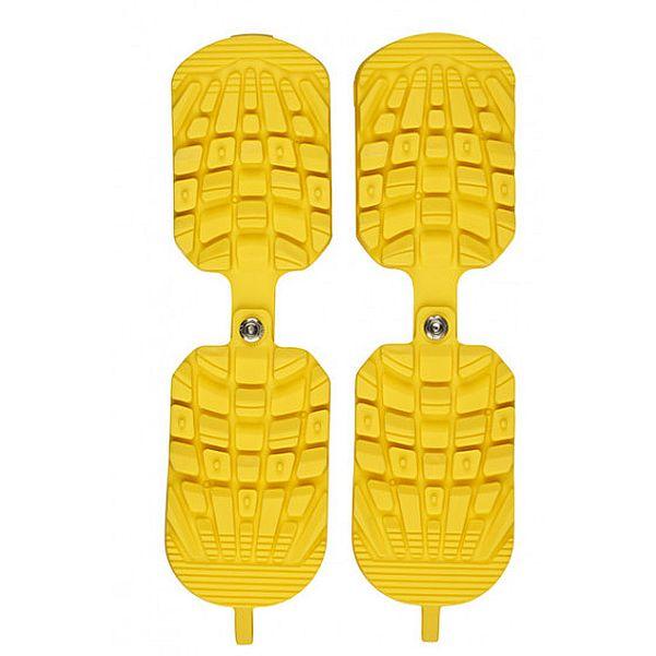 Накладки резиновые Sidas Sidas на горнолыжные ботинки Ski Boots Traction желтый