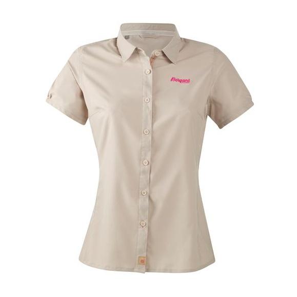Рубашка Bergans Runde SS женская