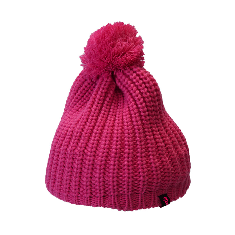 Купить Шапка Ogso Pink Pom Beanie