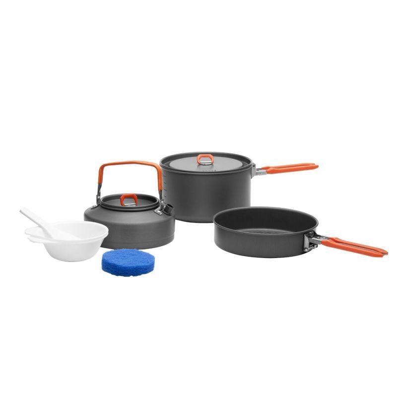 Купить Набор портативной посуды Fire-Maple Feast 2 из алюминия на 2-3 персоны