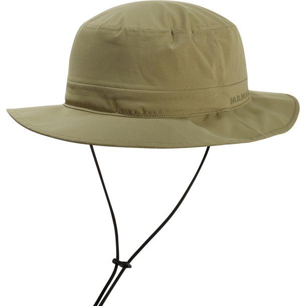Шляпа Mammut Mammut Machu Hat хаки L магнезия mammut mammut pure chalk collectors box зеленый one