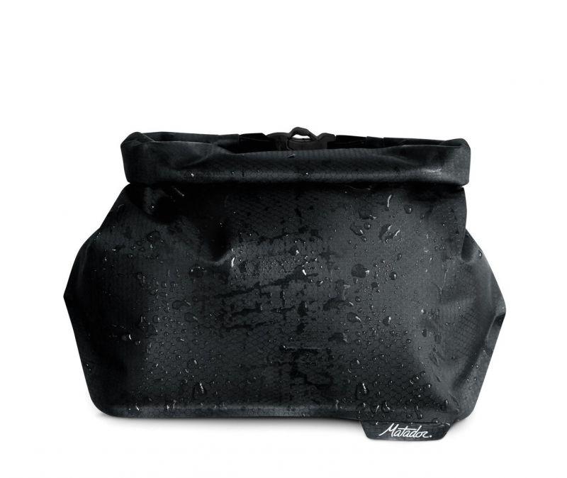 Косметичка водонепроницаемая Matador Matador Flatpak Toiletry Case черный 24X9.5X14СМ