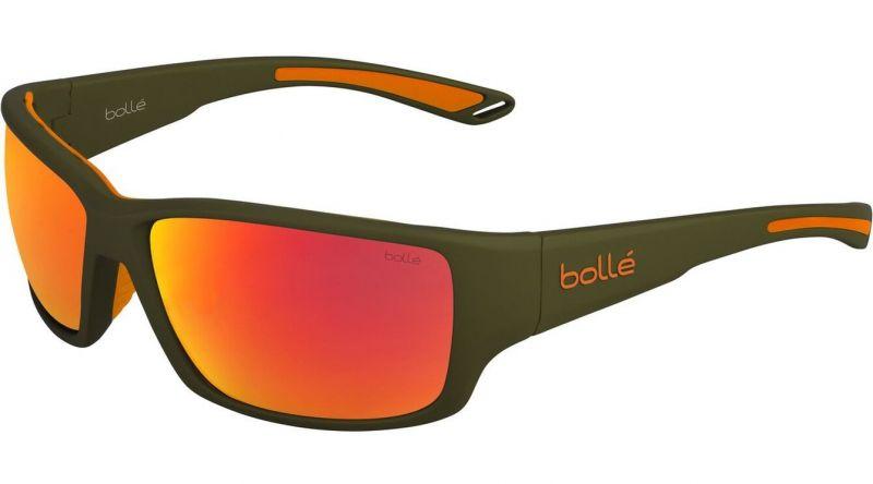 Фото - Очки Bolle Bolle Kayman темно-зеленый очки bolle bolle vulture черный