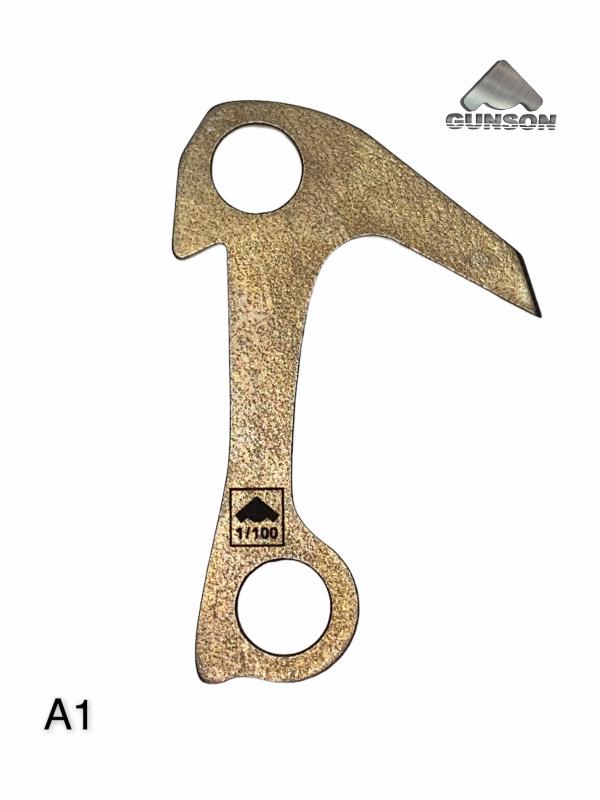 Купить Крюк якорный Gunson №1/А1 (3мм/30ХГСА/HRc 40)