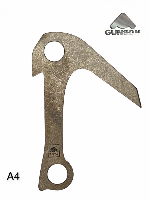 Крюк якорный Gunson №4/А4 (3мм/30ХГСА/HRc 40)  - купить со скидкой
