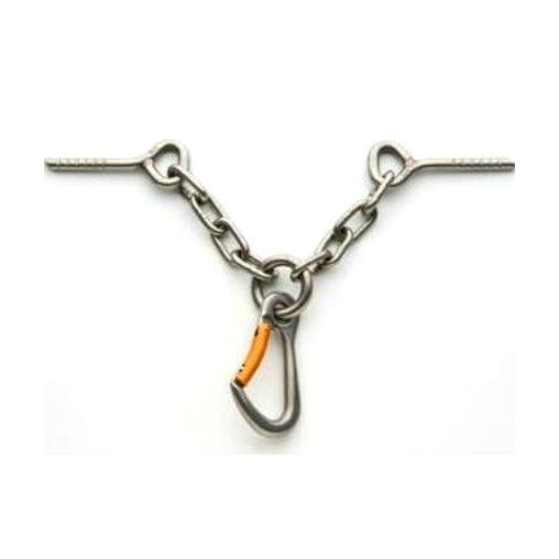 Крюк сталь с карабином Fixe #393