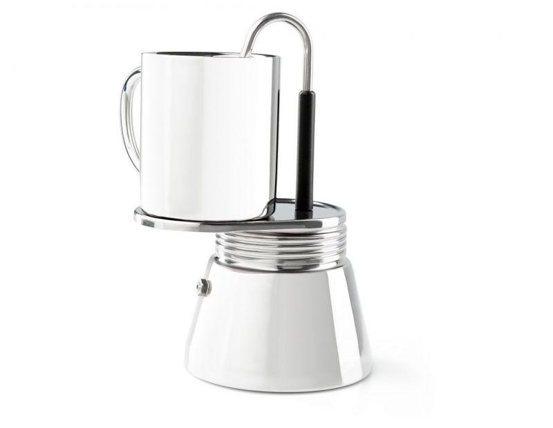 Купить Комплект кофеварка с кружкой GSI 4 Cup Mini Espresso