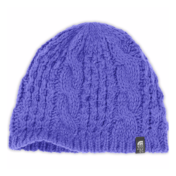Шапка The North Face The North Face Cable Minna Beanie женская светло-фиолетовый OS шапка the north face the north face nanny knit beanie разноцветный os