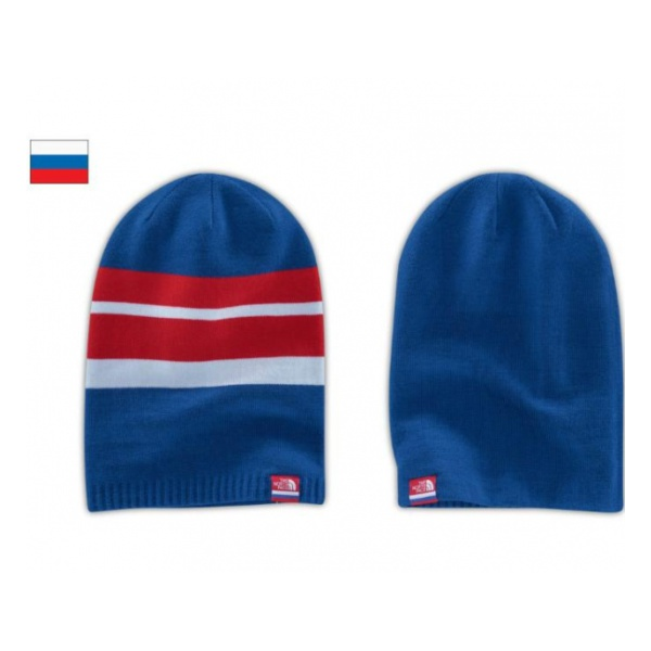 Шапка The North Face The North Face Villa Reversible Beanie синий the north face triple cable pom beanie красный one t0cln6