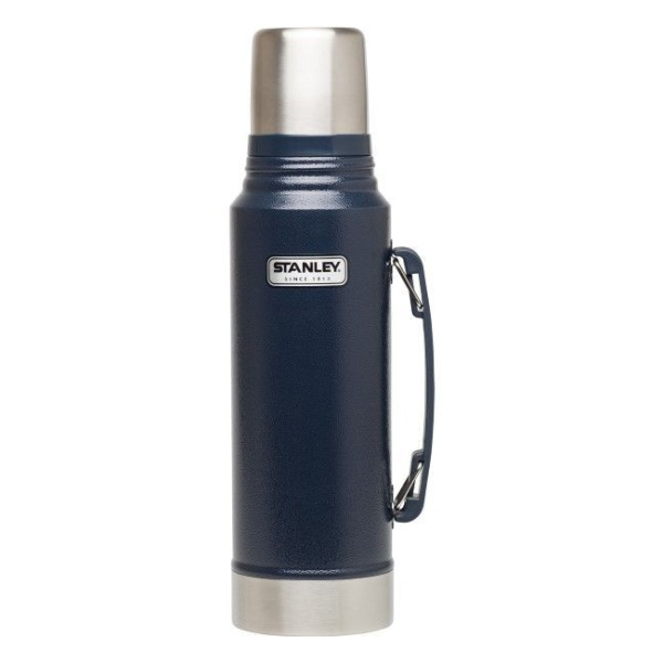 Термос Stanley Stanley Classic Vacuum Flask 1L синий 1л термос outwell aden vacuum flask 600ml 650417