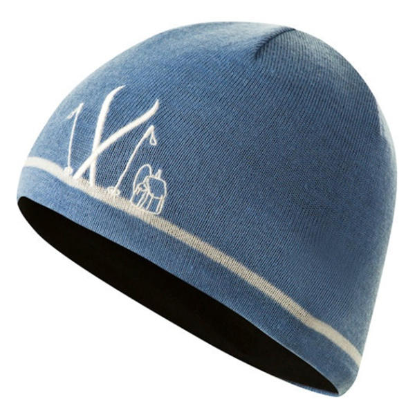 Шапка Bergans Bergans Ski Beanie синий 58 шапка bergans bergans ski beanie синий 58