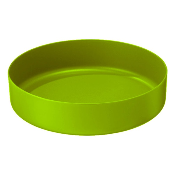 Тарелка Msr Пластиковая Deep Dish Plate Small зеленый MEDIUM