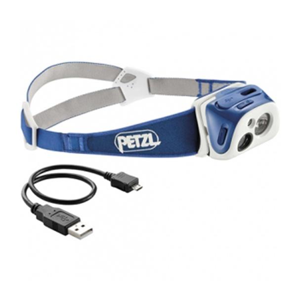 Фонарь налобный Petzl Petzl Tikka R+ синий налобный фонарь sunree l40 ipx8 4led